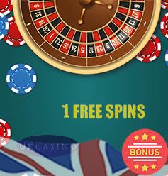 1 Free Spin Casino Promos casinosforuk.com